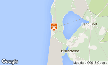 Map Biscarrosse Mobile home 30327