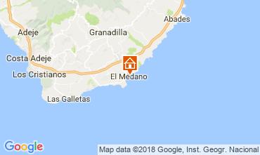 Map El Medano Apartment 114545