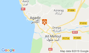 Map Agadir Apartment 115125