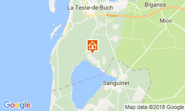 Map Arcachon Villa 114968