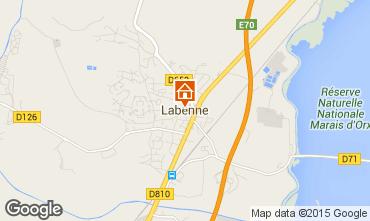 Map Labenne Océan Apartment 34716