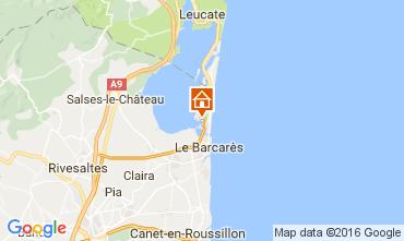 Map Port Barcares Studio apartment 6338