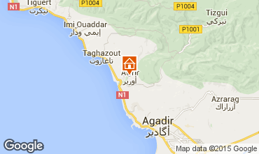 Map Taghazout Apartment 74732