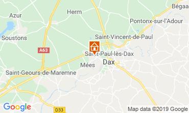 Map Saint Paul les Dax Mobile home 117704