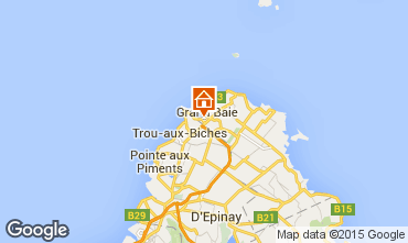 Map Grand Baie Apartment 55582