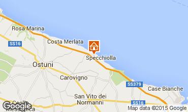Map Ostuni Villa 42028