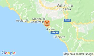 Map Ascea Apartment 104280