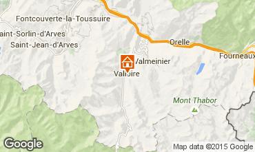 Map Valloire Chalet 100651