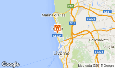 Map Tirrenia Apartment 96554