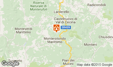 Map Volterra Apartment 101242