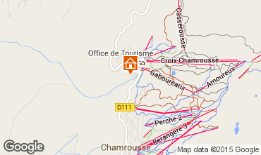 Map Chamrousse Studio apartment 764