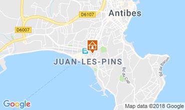 Map Juan les Pins Apartment 80674