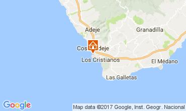 Map Playa de las Américas Apartment 108562