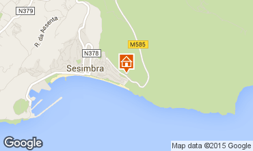 Map Sesimbra Apartment 57423