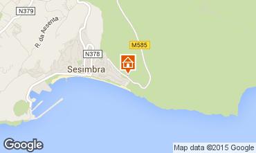 Map Sesimbra Apartment 57423