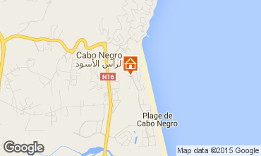 Map Cabo Negro Apartment 96218