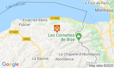 Map Bernex Apartment 49534