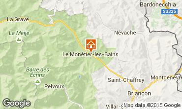 Map Serre Chevalier Chalet 2989