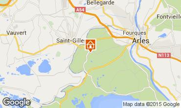 Map Arles Self-catering property 71957
