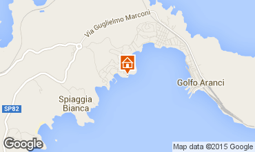 Map Aranci Gulf Apartment 74362
