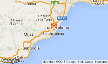 Map Torremolinos Apartment 91693