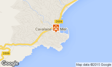 Map Cavalaire-sur-Mer Apartment 82294