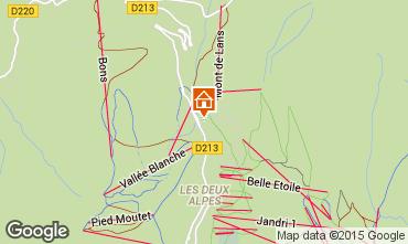 Map Les 2 Alpes Apartment 87167