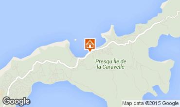 Map Tartane Bungalow 90954