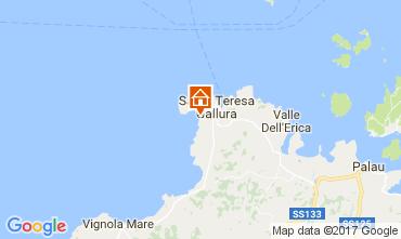 Map Santa Teresa di Gallura Apartment 92849