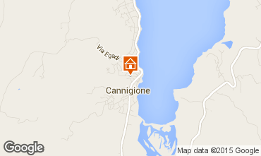 Map Cannigione Apartment 83917