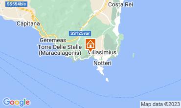 Map Villasimius Villa 116186