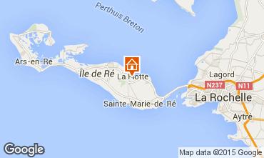 Map La Flotte en Ré Villa 75537