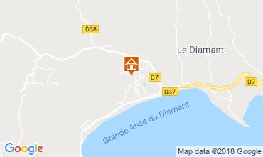 Map Le Diamant Studio apartment 116462