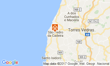 Map Torres Vedras House 48626
