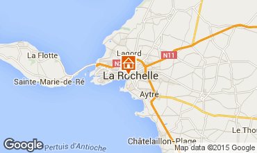 Map La Rochelle Apartment 80784