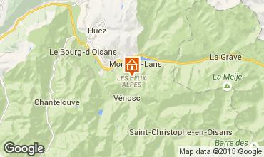 Map Les 2 Alpes Apartment 85753