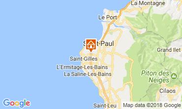 Map Saint Gilles Studio apartment 114632