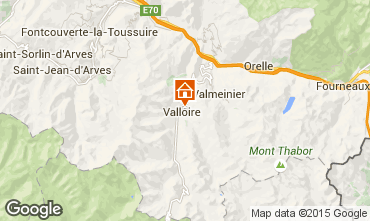 Map Valloire Chalet 27264