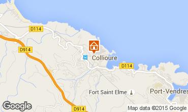 Map Collioure Flat 9131