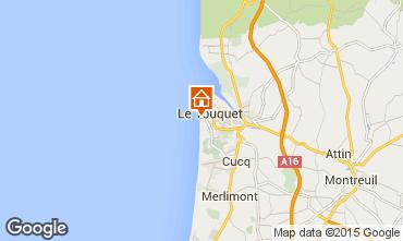Map Le Touquet Apartment 96150