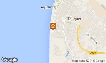 Map Le Touquet Apartment 96150