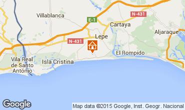 Map Islantilla Villa 63497
