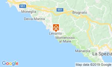Map Levanto Apartment 117324