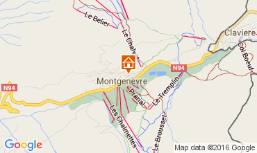 Map Montgenevre House 103270