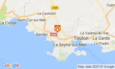 Map Sanary Villa 114363
