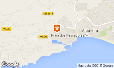 Map Albufeira Apartment 47517