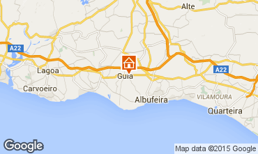Map Albufeira Villa 82023