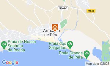 Map Armação de Pera Apartment 49190
