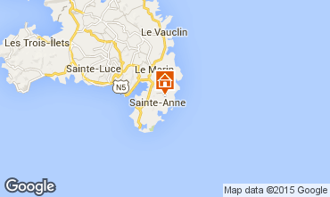Map Sainte Anne (Martinique) House 62844