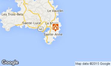 Map Sainte Anne (Martinique) House 62844